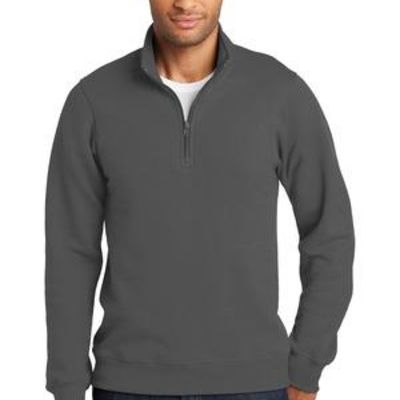 Fan Favorite Fleece 1/4 Zip Pullover Sweatshirt Thumbnail