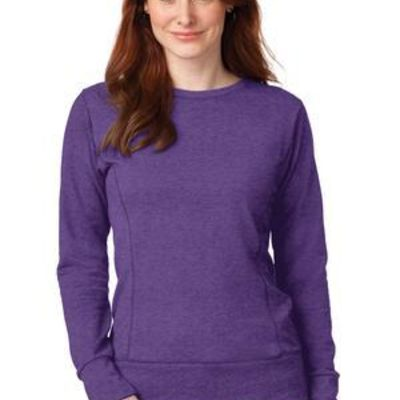 Ladies French Terry Crewneck Sweatshirt Thumbnail