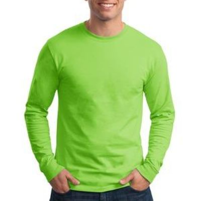 Tagless ® 100% Cotton Long Sleeve T Shirt Thumbnail