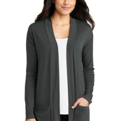 ® Ladies Concept Long Pocket Cardigan Thumbnail