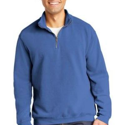 Ring Spun 1/4 Zip Sweatshirt Thumbnail
