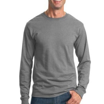 Dri Power ® 50/50 Cotton/Poly Long Sleeve T Shirt Thumbnail