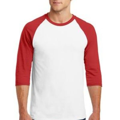 Heavy Cotton ™ 3/4 Sleeve Raglan T Shirt Thumbnail