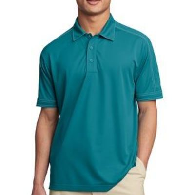 Contrast Stitch Micropique Sport Wick ® Polo Thumbnail