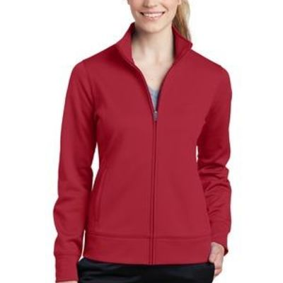 Ladies Sport Wick ® Fleece Full Zip Jacket Thumbnail