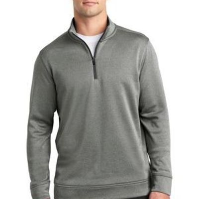 ® PosiCharge ® Sport Wick ® Heather Fleece 1/4 Zip Pullover Thumbnail