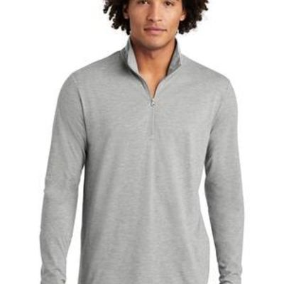 ® PosiCharge ® Tri Blend Wicking 1/4 Zip Pullover Thumbnail