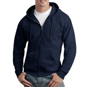 EcoSmart ® Full Zip Hooded Sweatshirt Thumbnail