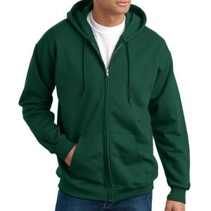 Ultimate Cotton ® Full Zip Hooded Sweatshirt Thumbnail