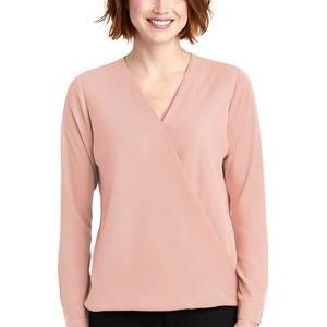 ® Ladies Wrap Blouse Thumbnail